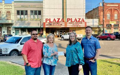 Colorado Bend I Power Funds State-of-the-Art Ticket Scanners for Wharton Plaza Theatre